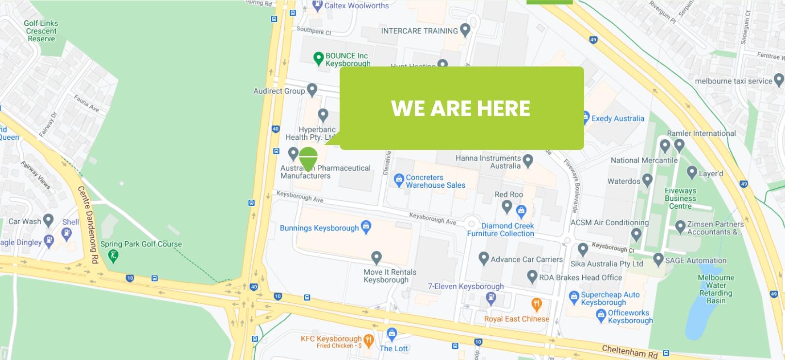 APM office map